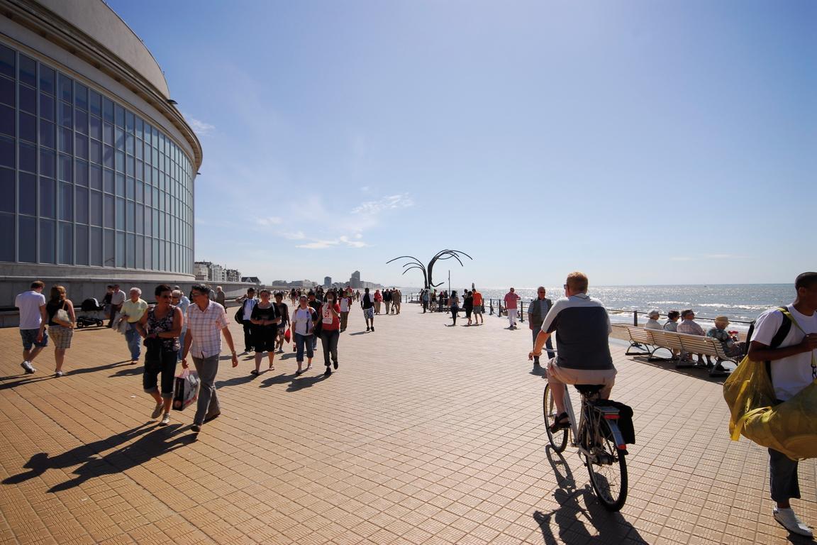 Kursaal und Promenade Oostende © VisitOostende