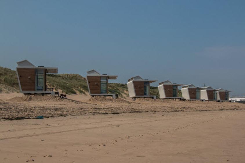 Wohnen in Natur pur: Strandhäuser Park Hoogduin Cadzand-Bad