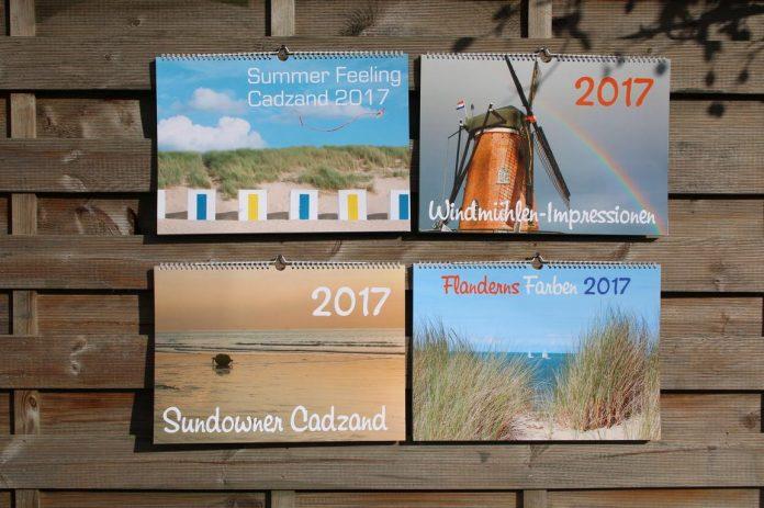 Alle auf eien Blick: cadzand-Foto-Kalender 2017