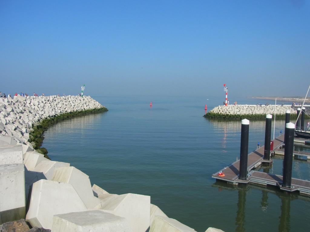 Hafeneinfahrt Cadzand-Bad