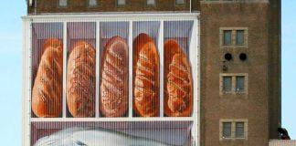 """Brote & Fische""-Wandgemäle Johnny Berens"