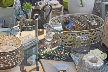 Brocante-Markt in Sluis