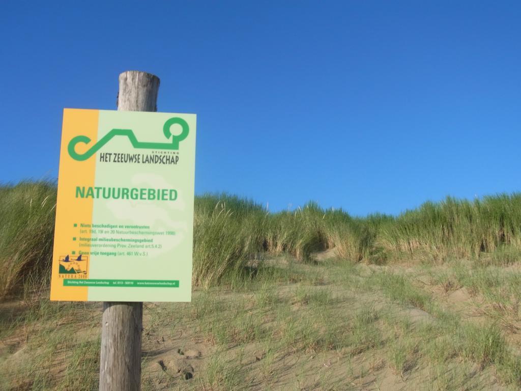 Geschützte Dünen bei Cadzand-Bad