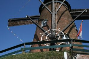 "Offene Windmühle ""Het Nooitgedacht"" @ Cadzand-Dorf Windmühle Het Nooitgedacht | Cadzand | Zeeland | Niederlande"