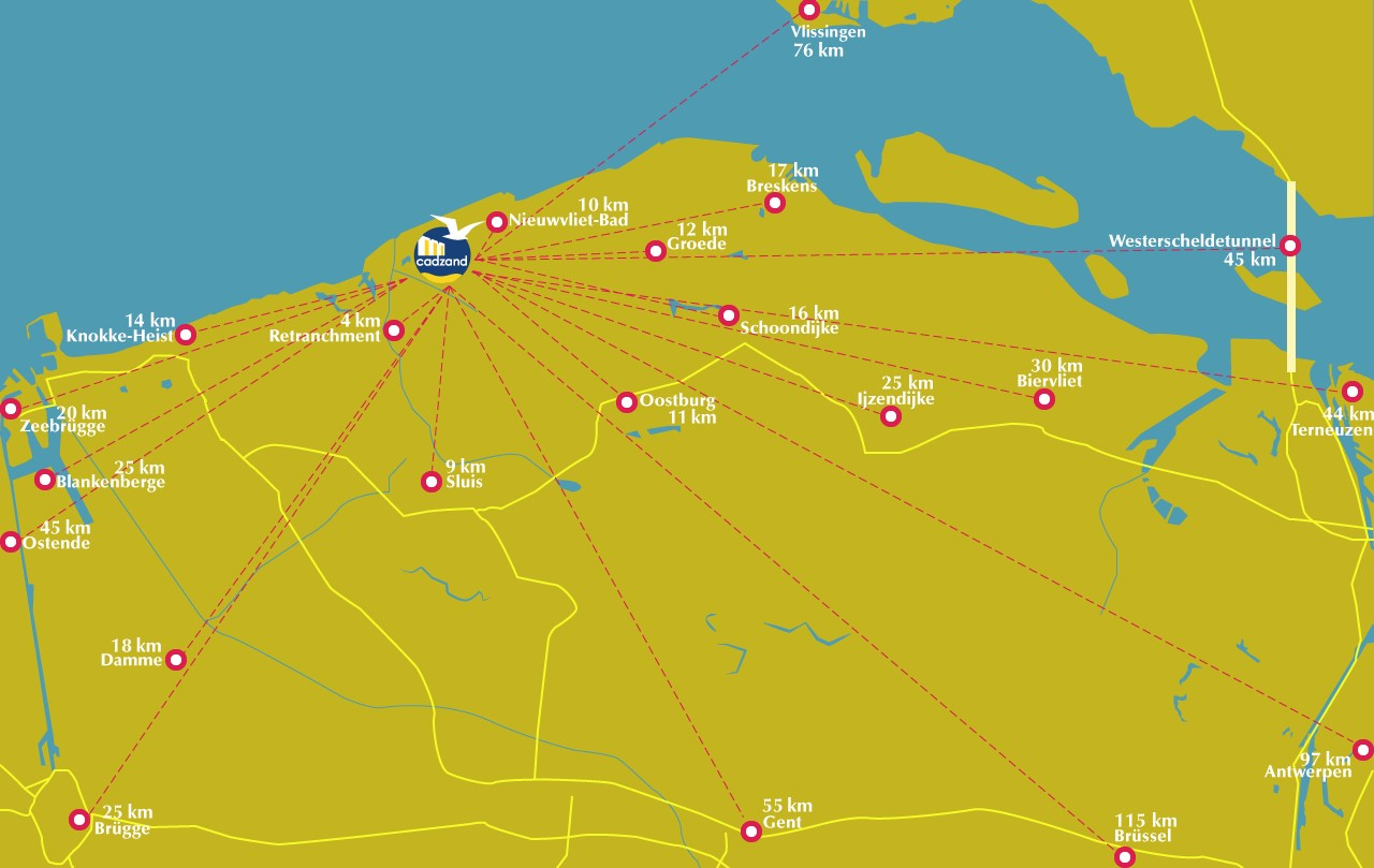 Anreise | Service A bis Z - Breskens - Urlaub an Hollands
