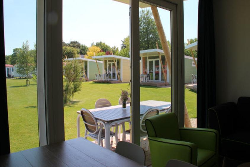"Blick in die Natur: Ferienhaus ""Zonnestraal"" Molecaten Park Hoogduin"