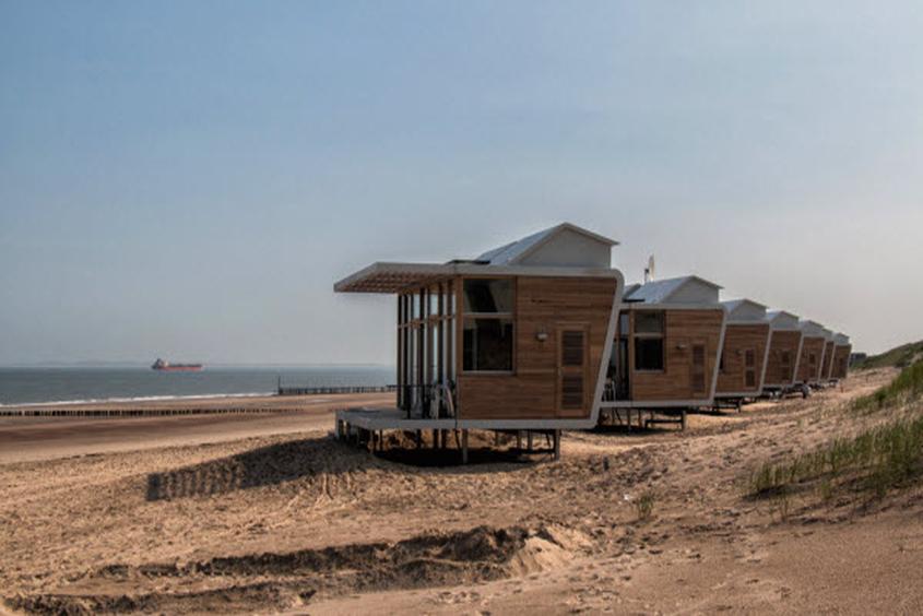 Wellenrauschen zum Einschlafen: Strandhäuser Park Hoogduin Cadzand-Bad