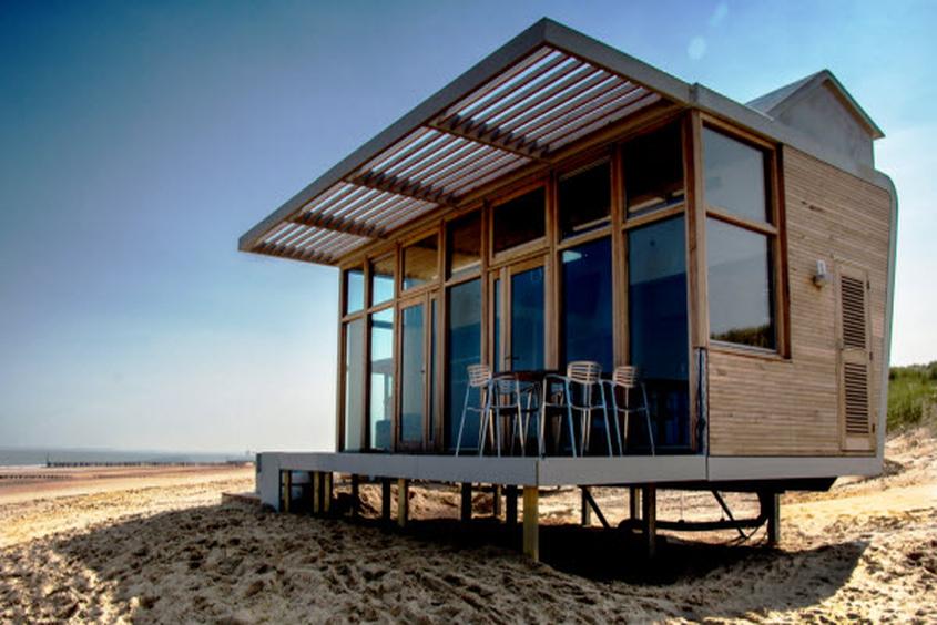 Wohnen am Strand: Strandhäuser Park Hoogduin Cadzand-Bad