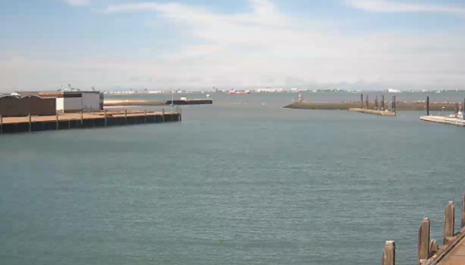 Webcam Breskens Hafen
