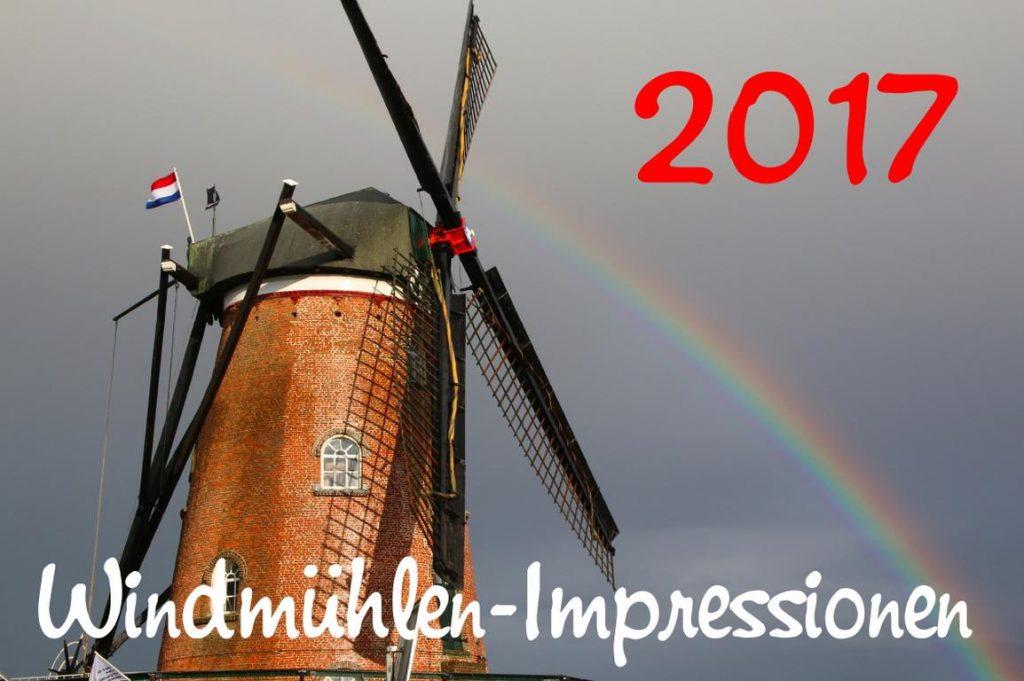 """""""Windmühlen-Impressionen 2017"""": Cadzand-Foto-Kalender"""