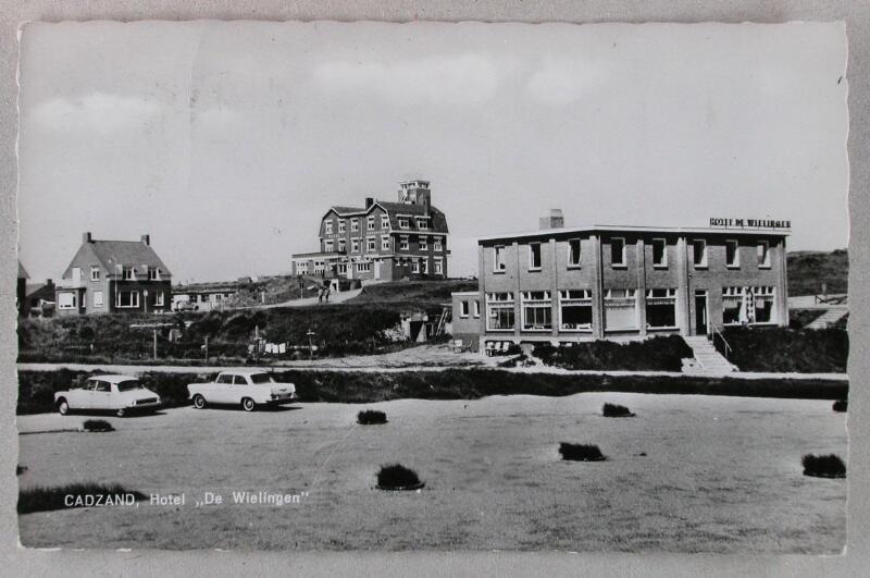 """Hotel """"De Wielingen"""" Cadzand-Bad um 1962"""