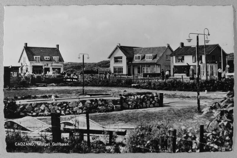 """Campingplatz """"Welgelegen"""" Cadzand-Bad um 1961"""