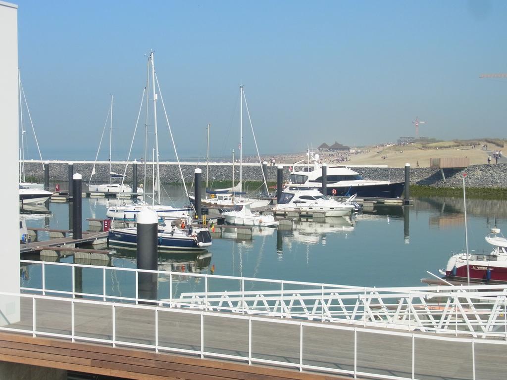 Blick auf Jachthafen Cadzand-Bad