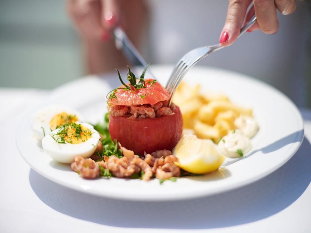 Belgische Tomaten-Garnelen