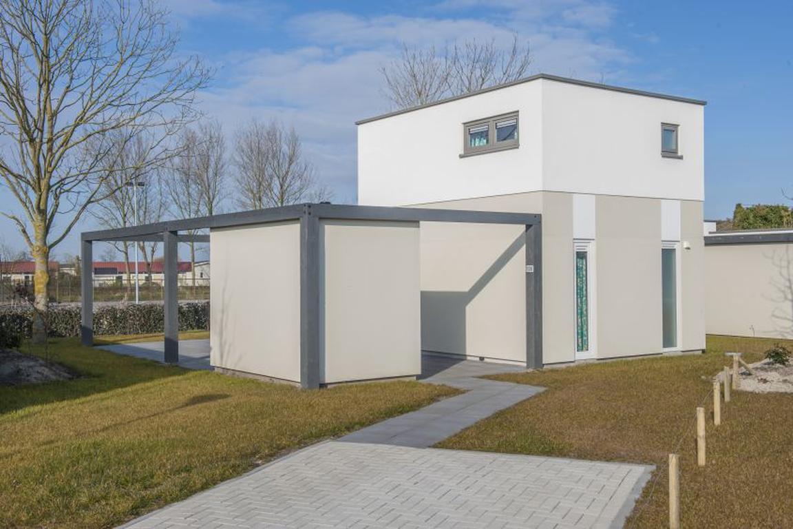 """Ferienpark """"Zeebad"""" Breskens: Lodge Typ Luxe 6C mit Obergeschoss und 2 Badezimmern"""