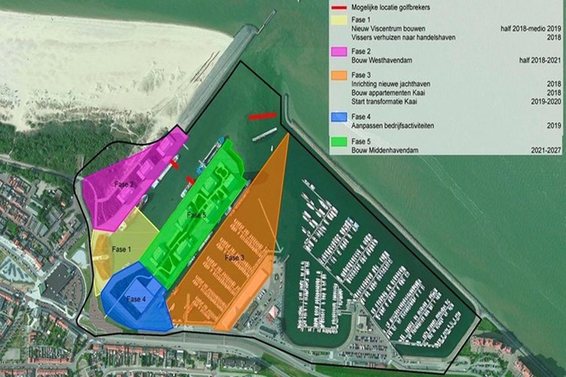 Breskens - Modernisierung des Hafengebietes